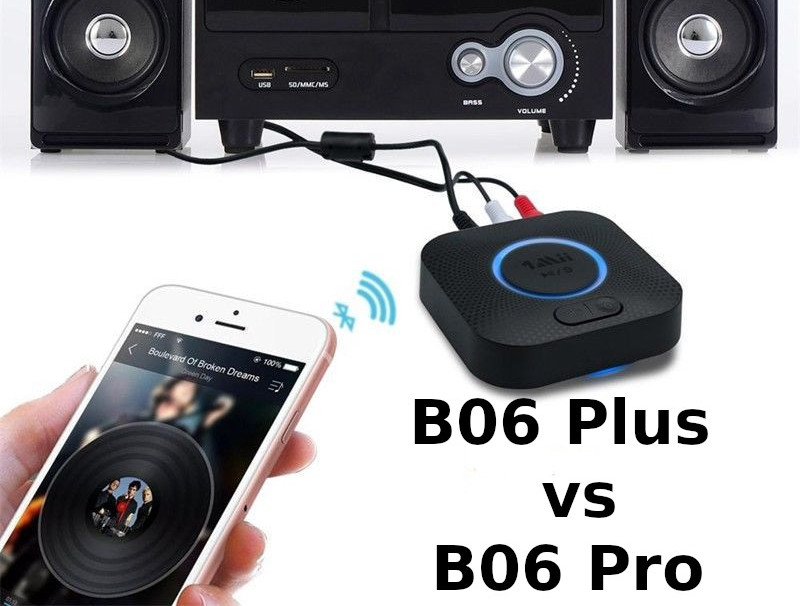 Pojedynek odbiorników Bluetooth 1Mii – B06 Plus vs B06 Pro