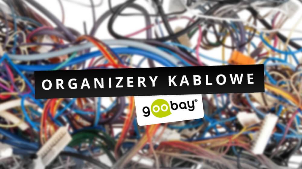 Plątanina kabli w miejscu pracy – to już nie problem – organizery kablowe Goobay
