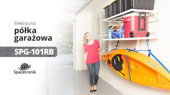 Elektryczna półka garażowa Spacetronik Ergoline