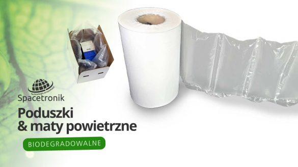 Ekologiczne biodegradowalne poduszki powietrzne