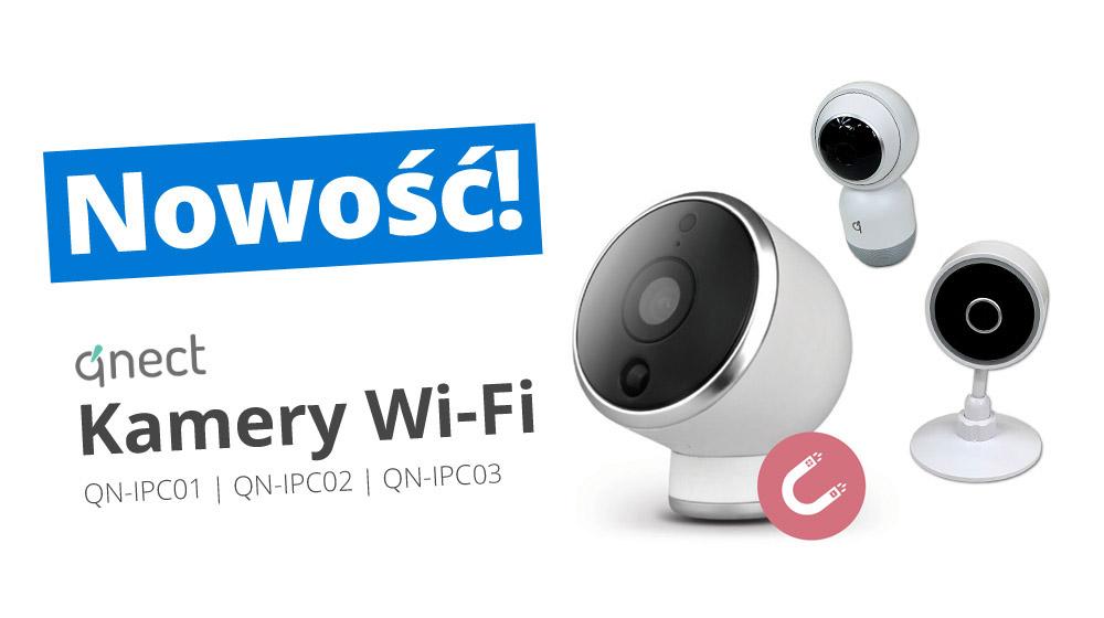 Inteligentna kamera Wi-Fi Qnect Smart Life
