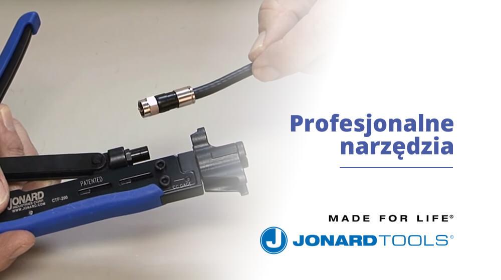 Profesjonalne narzędzia w twoich rękach JONARD TOOLS