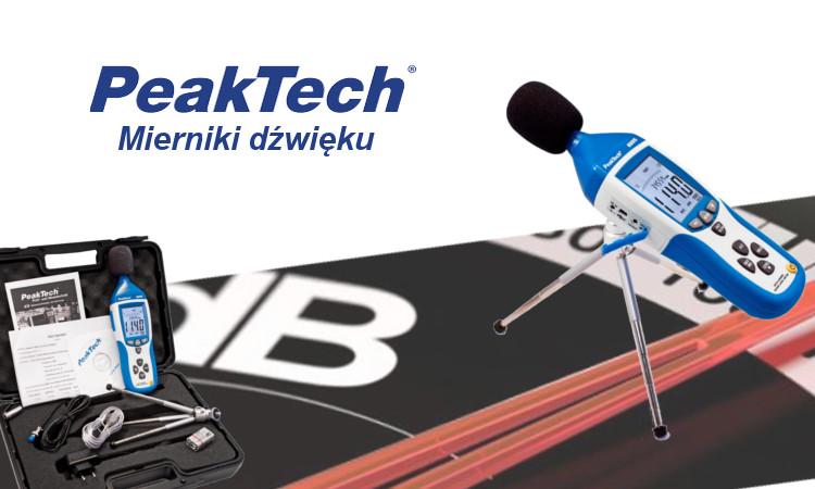 Profesjonalny miernik dźwięku Peaktech 8005