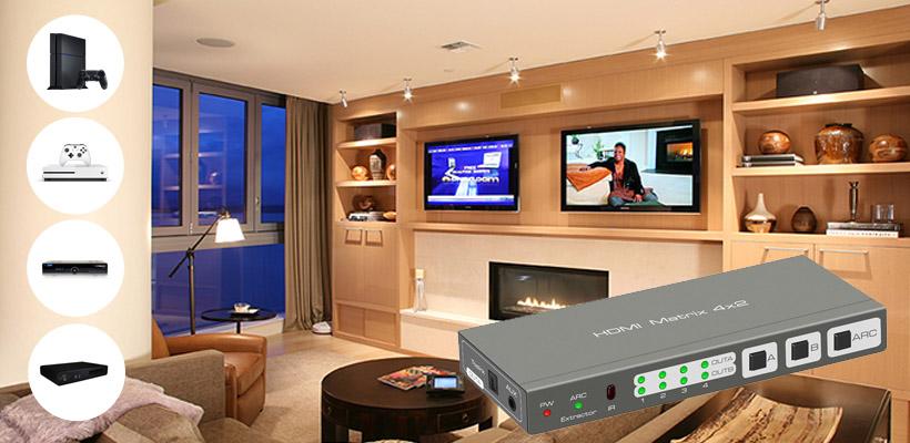 2 telewizory