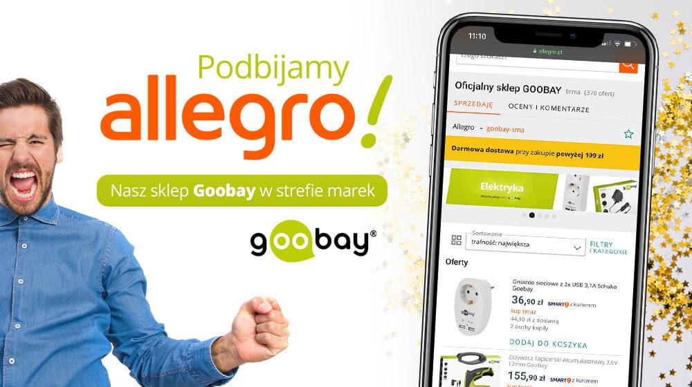Nasza marka Goobay podbija Allegro!
