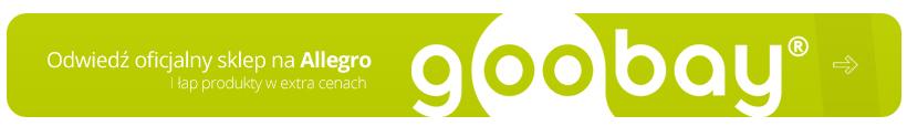 Sprawdź oficjalny sklep Goobay na Allegro w strefie marek
