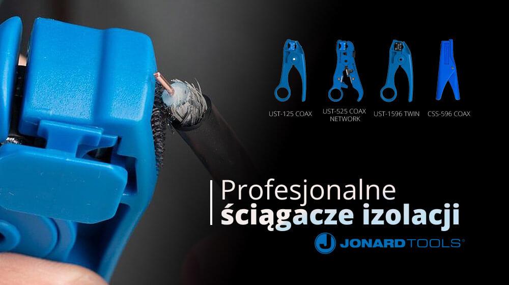 Profesjonalne ściągacze izolacji JONARD TOOLS
