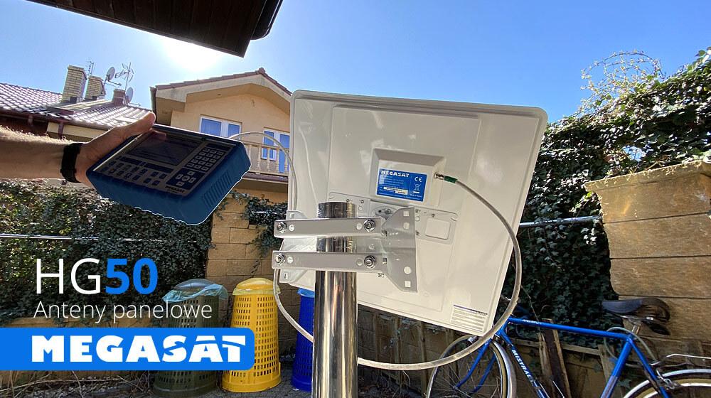 Płaskie panelowe anteny SATELITARNE Megasat HG50