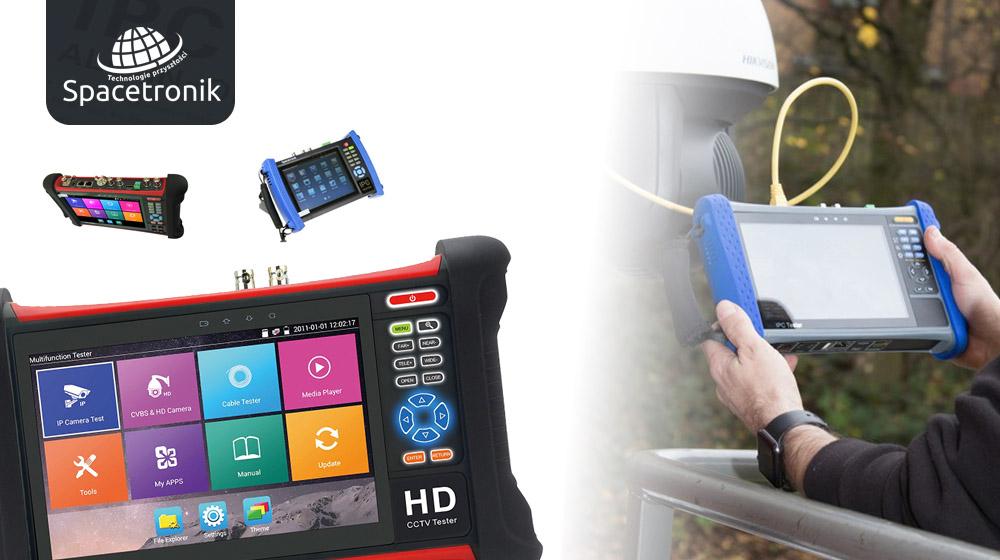 Idzie lato – można działać! Mierniki CCTV Spacetronik do obsługi monitoringu.