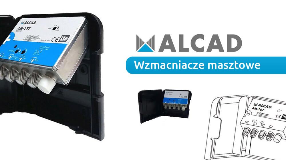 Wzmacniacz masztowy Alcad 12V i 24V z serii AM