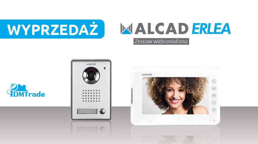Wyprzedaż! Alcad Erlea – Zestaw wideodomofonu dotykowego