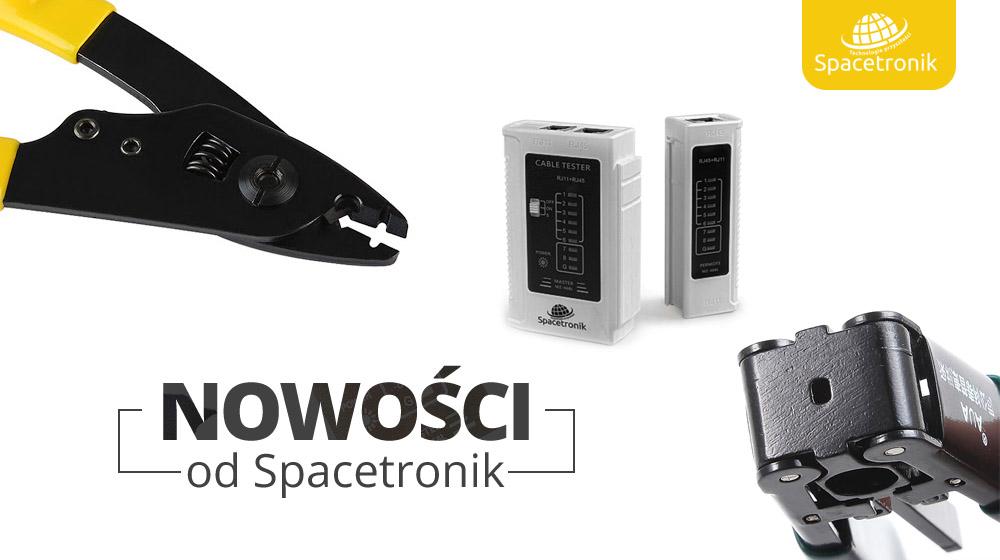 Nowości od Spacetronik – Narzędzia do obróbki światłowodów & Tester okablowania LAN