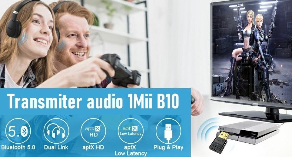 Wysyłamy dźwięk przez USB do odbiorników Bluetooth – 1Mii B10