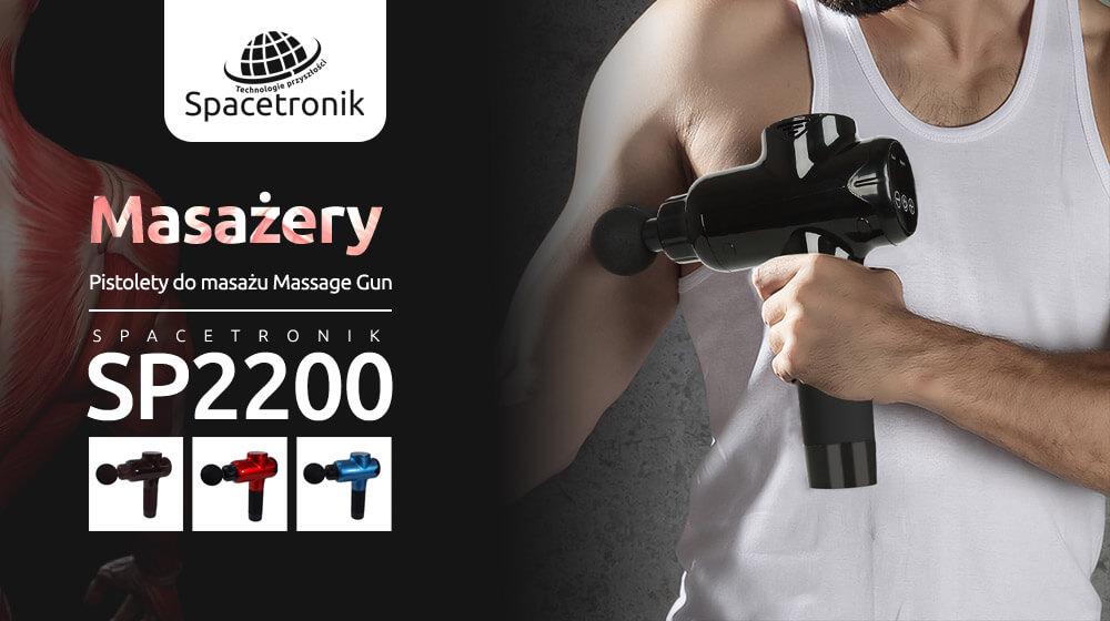 Piłka, wałek, roller, a może pistolet do masażu Spacetronik SP2200