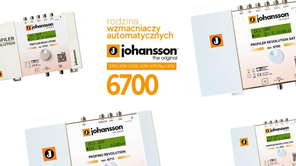 Automatyczny szerokopasmowy wzmacniacz Johansson PROFILER Revolution 6701 Lite