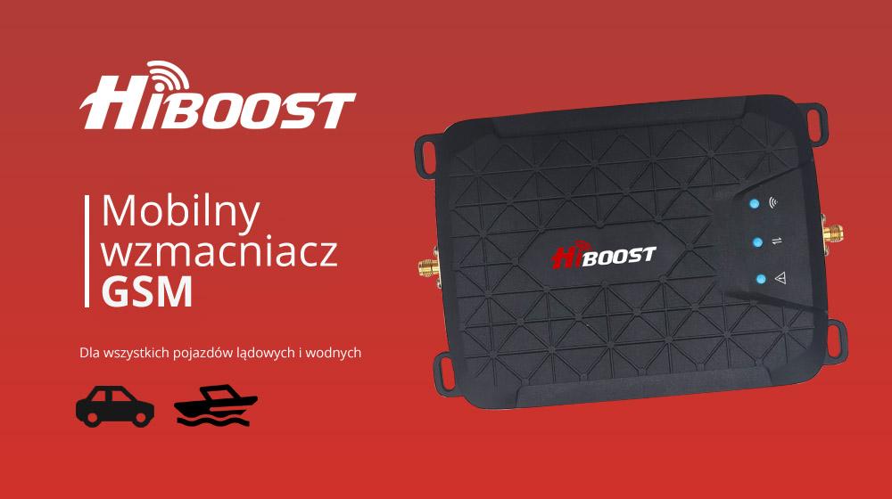 Mobilny wzmacniacz GSM dla samochodów i łodzi – HiBoost HiWay-5S