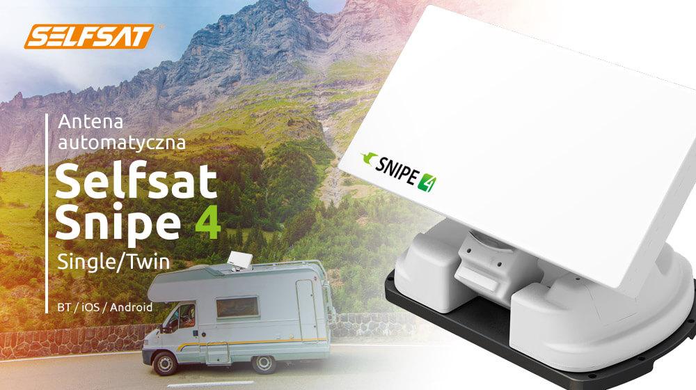 Automatyczne panelowe anteny SAT Selfsat SNIPE 4