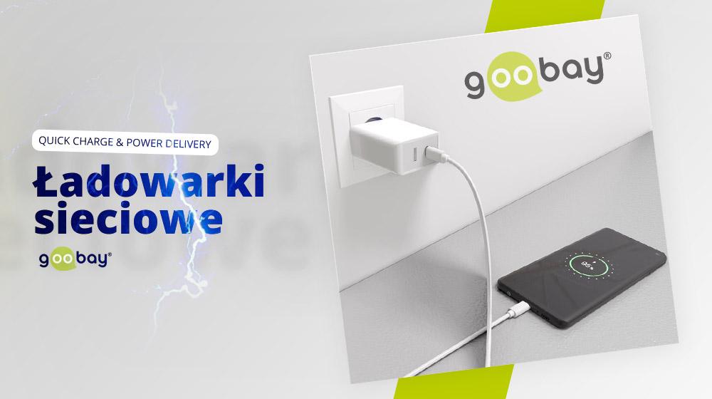 Piorunująco szybkie ładowanie smartfonów – Ładowarki Goobay Quick Charge & Power Delivery