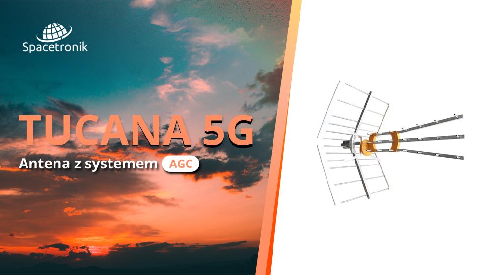 Antena z AGC Spacetronik Tucana 5G