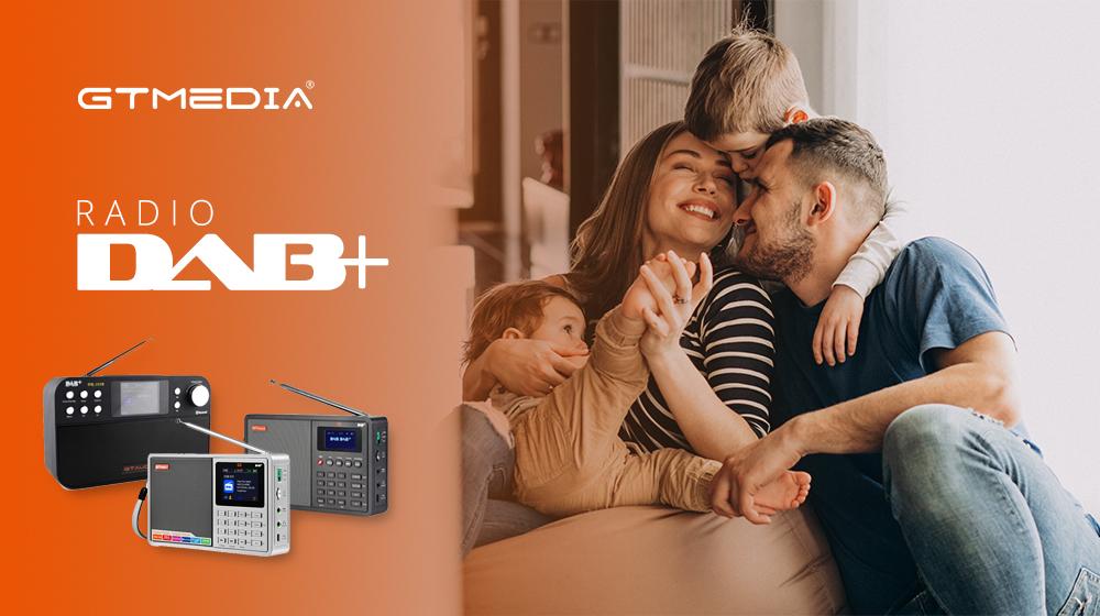 Cyfrowe Radia z FM oraz DAB+ od GTMEDIA
