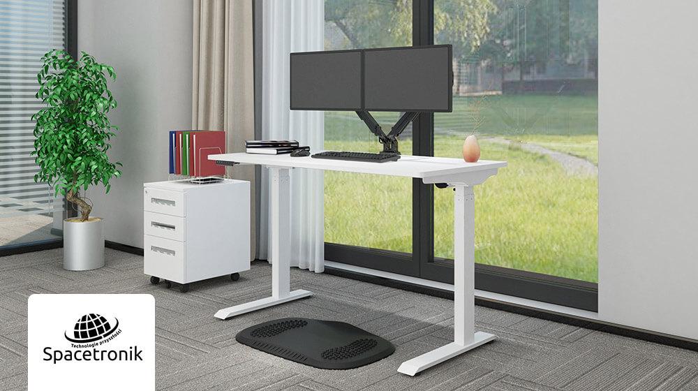 Więcej biurek! Spacetronik Ergoline Moris – nowe modele