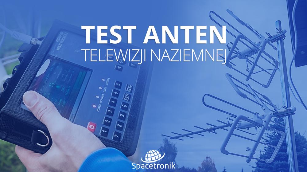 Test anten kierunkowych telewizji naziemnej DVB-T/T2