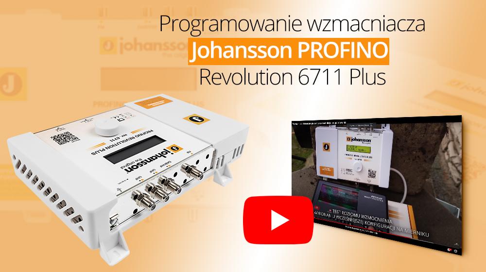 Programowanie automatycznego wzmacniacza Johansson PROFINO Revolution 6711 Plus