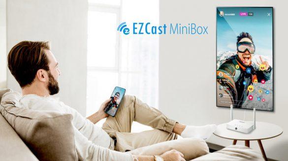 Bezprzewodowy transmiter HDMI EZcast