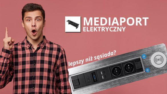 Mediaport elektrycznie otwierany