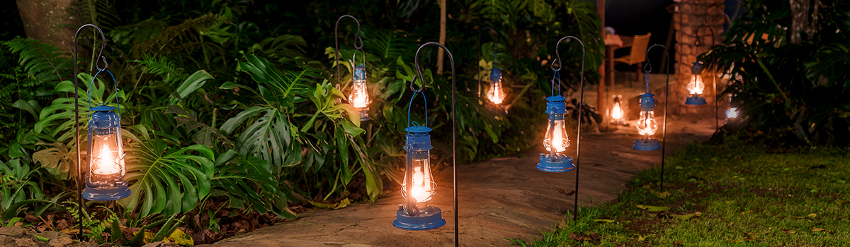 jak sterować oświetleniem w ogrodzie