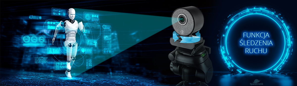 kamera internetowa z funkcją śledzenia
