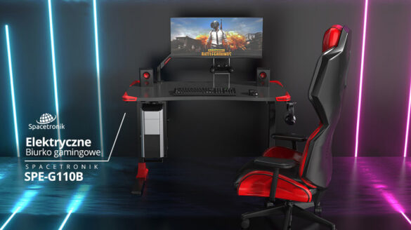 biurko elektryczne dla gracza Spacetronik