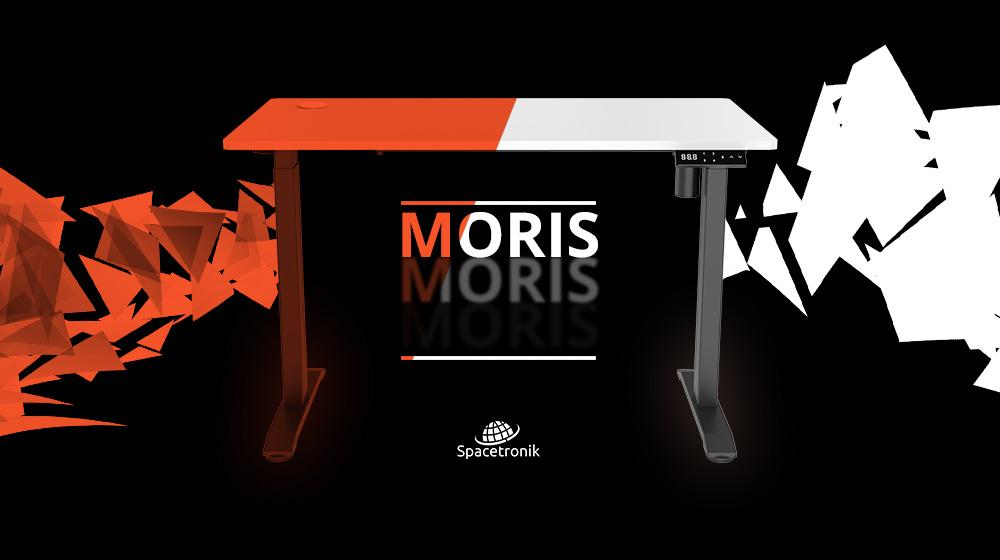 Twój ergonomiczny przyjaciel – biurko elektryczne Spacetronik Moris