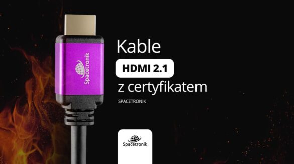 Hdmi 8K Spacetronik kable hdmi 2.1